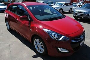 2013 Hyundai i30 GD Active Tourer Cool Red 6 Speed Sports Automatic Wagon Townsville Townsville City Preview