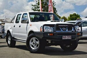 2013 Nissan Navara D22 S5 ST-R White 5 Speed Manual Utility Beaudesert Ipswich South Preview