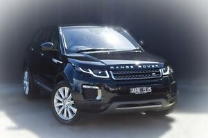 2015 Land Rover Range Rover Evoque L538 MY16 TD4 180 HSE Black 9 Speed Sports Automatic Wagon Berwick Casey Area Preview
