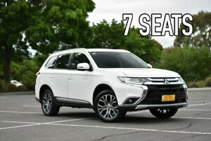 2015 Mitsubishi Outlander ZK MY16 XLS 4WD White 6 Speed Constant Variable Wagon Enfield Port Adelaide Area Preview