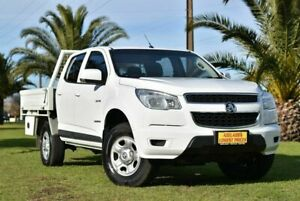 2014 Holden Colorado RG MY14 LX Crew Cab 4x2 White 6 Speed Manual Utility Cheltenham Charles Sturt Area Preview