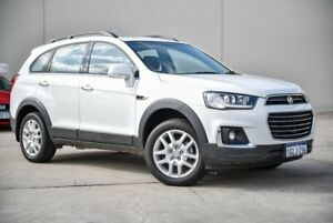 2017 Holden Captiva CG MY18 Active 2WD White 6 Speed Sports Automatic Wagon Midvale Mundaring Area Preview