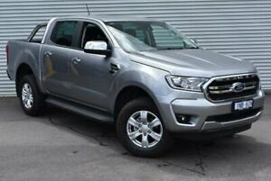 2019 Ford Ranger PX MkIII 2019.00MY XLT Pick-up Double Cab Silver 6 Speed Sports Automatic Utility