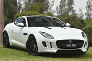 2016 Jaguar F-TYPE X152 MY17 Quickshift RWD Polaris White 8 Speed Seq Manual Auto-Clutch Coupe St James Victoria Park Area Preview