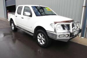 2011 Nissan Navara D40 ST-X 550 (4x4) White 7 Speed Automatic Dual Cab Utility Hackham Morphett Vale Area Preview
