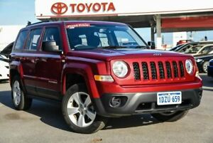 2012 Jeep Patriot MK MY12 Sport (4x2) Red 5 Speed Manual Wagon Osborne Park Stirling Area Preview