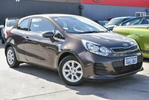2015 Kia Rio UB MY15 S Brown 4 Speed Sports Automatic Hatchback Midvale Mundaring Area Preview