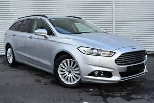 2016 Ford Mondeo MD Trend PwrShift Silver 6 Speed Sports Automatic Dual Clutch Wagon Epping Whittlesea Area Preview