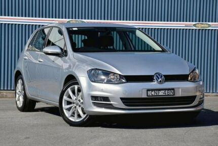 2013 Volkswagen Golf VII 103TSI DSG Highline Silver 7 Speed Sports Automatic Dual Clutch Hatchback Tweed Heads Tweed Heads Area Preview
