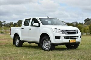 2015 Isuzu D-MAX MY15 SX Crew Cab 4x2 High Ride White 5 Speed Sports Automatic Cab Chassis Enfield Port Adelaide Area Preview