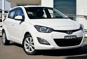 2015 Hyundai i20 PB MY15 Elite White 4 Speed Automatic Hatchback Gosford Gosford Area Preview