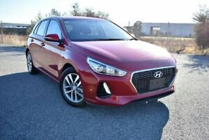 2017 Hyundai i30 PD MY18 Active Fiery Red 6 Speed Sports Automatic Hatchback Ingle Farm Salisbury Area Preview
