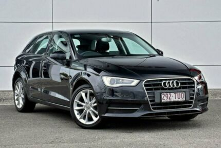 2014 Audi A3 8V Attraction Sportback S tronic Black 7 Speed Sports Automatic Dual Clutch Hatchback Tweed Heads South Tweed Heads Area Preview