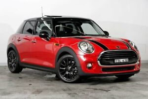 2018 Mini Hatch F55 LCI Cooper DCT Chilli Red 7 Speed Sports Automatic Dual Clutch Hatchback Darlinghurst Inner Sydney Preview