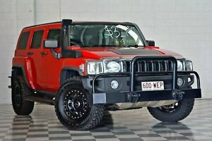 2007 Hummer H3 MY07 Red 5 Speed Manual Wagon Burleigh Heads Gold Coast South Preview
