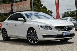 2014 Volvo S60 F Series MY15 T4 PwrShift Sprint Edition White 6 Speed Sports Automatic Dual Clutch