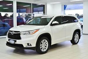 2014 Toyota Kluger GSU55R GX (4x4) Pearl White 6 Speed Automatic Wagon Morley Bayswater Area Preview