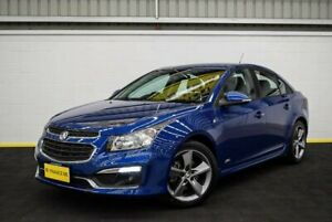 2016 Holden Cruze JH Series II MY16 Z-Series Blue 6 Speed Sports Automatic Sedan Canning Vale Canning Area Preview