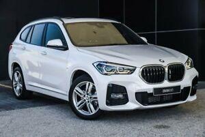 2020 BMW X1 F48 LCI sDrive18i D-CT Mineral White 7 Speed Sports Automatic Dual Clutch Wagon Wangara Wanneroo Area Preview
