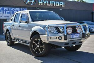 2011 Nissan Navara D40 S5 MY12 ST-X Silver 7 Speed Sports Automatic Utility