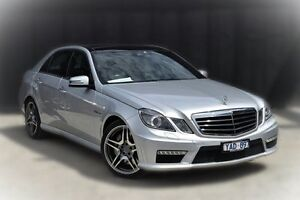 2010 Mercedes-Benz E63 W212 AMG SPEEDSHIFT MCT Silver 7 Speed Sports Automatic Sedan Berwick Casey Area Preview