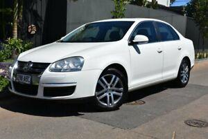 2008 Volkswagen Jetta 1KM MY08 FSI White 6 Speed Manual Sedan Brighton Holdfast Bay Preview
