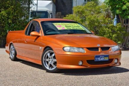2001 Holden Ute VU SS Gold 4 Speed Automatic Utility