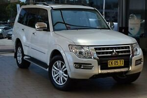 2015 Mitsubishi Pajero NX MY16 Exceed LWB (4x4) White 5 Speed Auto Sports Mode Wagon Belconnen Belconnen Area Preview
