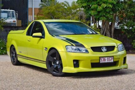 2008 Holden Ute VE SS V Green 6 Speed Manual Utility