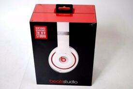 Beats Studio High Quality Headphones White Brand New £135
