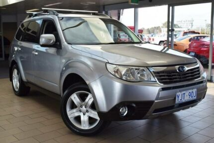 2010 Subaru Forester MY10 XS Premium Silver 5 Speed Manual Wagon