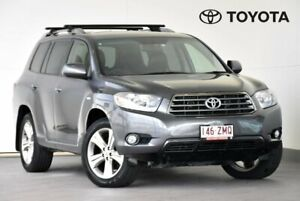 2009 Toyota Kluger GSU45R KX-S Grey Sports Automatic Indooroopilly Brisbane South West Preview