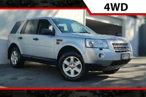 2007 Land Rover Freelander 2 LF Td4 SE Silver 6 Speed Sports Automatic Wagon Ashmore Gold Coast City Preview