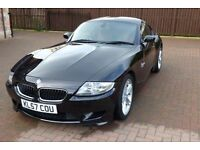 BMW Z4M Coupe Low Mileage Black Red Leather 2007 (57)