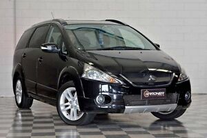 2009 Mitsubishi Grandis MY10 VRX Black 4 Speed Automatic Wagon Burleigh Heads Gold Coast South Preview