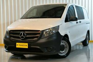 2015 Mercedes-Benz Vito 447 116BlueTEC SWB 7G-Tronic + White 7 Speed Sports Automatic Van Hendra Brisbane North East Preview