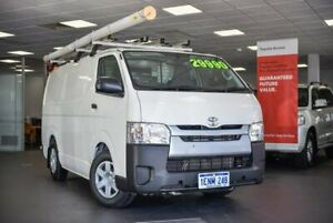 2014 Toyota HiAce TRH201R MY14 LWB White 5 Speed Manual Van Bellevue Swan Area Preview