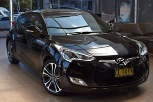 2015 Hyundai Veloster FS3 + Black 6 Speed Auto Dual Clutch Coupe Belconnen Belconnen Area Preview