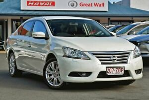 2013 Nissan Pulsar B17 TI White 1 Speed Constant Variable Sedan Tweed Heads Tweed Heads Area Preview