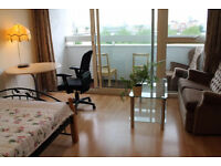 OH WOW! Master room for single people, available NOW. Docklands, south quay. All bills inc.