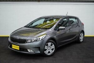2016 Kia Cerato YD MY17 S Grey 6 Speed Sports Automatic Hatchback Canning Vale Canning Area Preview