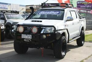 2012 Toyota Hilux KUN26R MY12 SR Double Cab White 5 Speed Manual Utility Altona North Hobsons Bay Area Preview