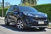 2017 Kia Sportage QL MY17 GT-Line AWD Black 6 Speed Sports Automatic Wagon Thorngate Prospect Area Preview