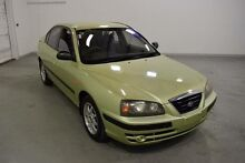 2003 Hyundai Elantra XD GLS Green 5 Speed Manual Sedan Moorabbin Kingston Area Preview