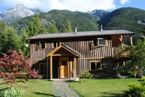 Idyllic 60-acre property in the Bella Coola Valley.