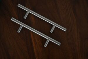 Like New Cabinet Drawer Pulls Brushed Nickel