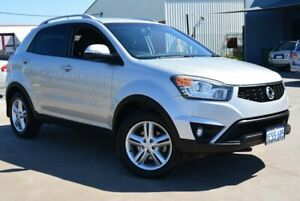 2015 Ssangyong Korando C200 MY14 Update S Silver 6 Speed Automatic Wagon
