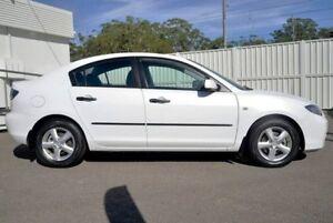 2008 Mazda 3 BK10F2 MY08 Neo Sport White 4 Speed Sports Automatic Sedan