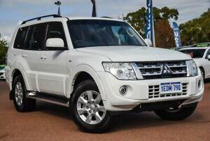 2012 Mitsubishi Pajero NW MY12 GLS White 5 Speed Sports Automatic Wagon Wangara Wanneroo Area Preview