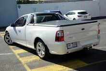 2012 Ford Falcon FG MkII XR6 Ute Super Cab EcoLPi White 6 Speed Sports Automatic Utility Mornington Mornington Peninsula Preview